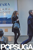 Kate Middleton carried an umbrella.  Source: Simpson/Bushell