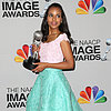 Pictures: Kerry Washington Aqua &amp; Pink Outift; Halle Berry