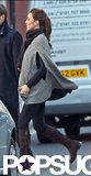 Kate Middleton crossed a busy London street.  Source: Topstar Pictures