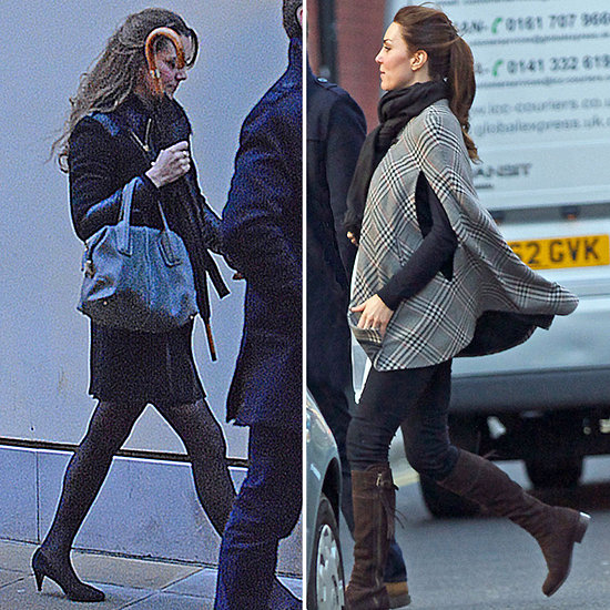 Kate Middleton Covers Her Bump to Shop Maternity Clothes in London