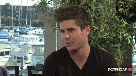 Video: Zac Efron Won't Compete Against Vanessa