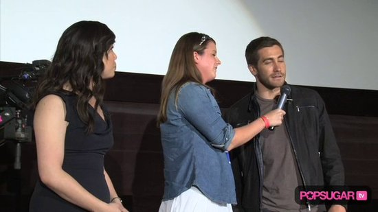Video: Jake Gyllenhaal's Shirtless Tease at PopSugar's Screening