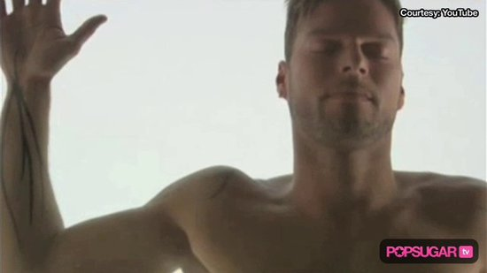 Video: Ricky Martin Joins Britney, Alanis & D'Angelo Getting Naked in Videos