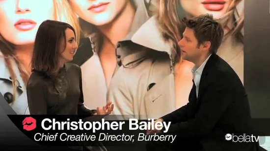 Interview with Burberry's Christopher Bailey on New Makeup Line Launch