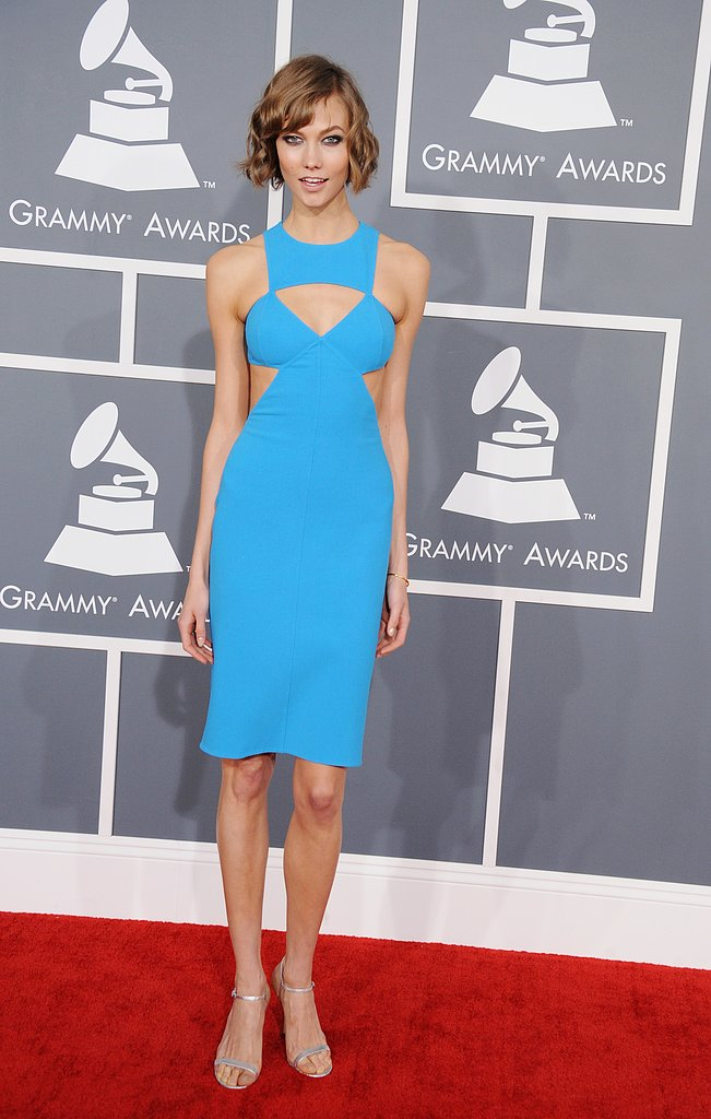 Karlie Kloss stepped onto the red carpet.