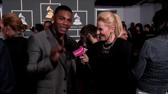 Video: Nelly Shares Exciting Collaboration Plays — With Nelly! — at Grammys