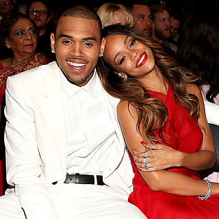 Rihanna and Chris Brown at the Grammys 2013