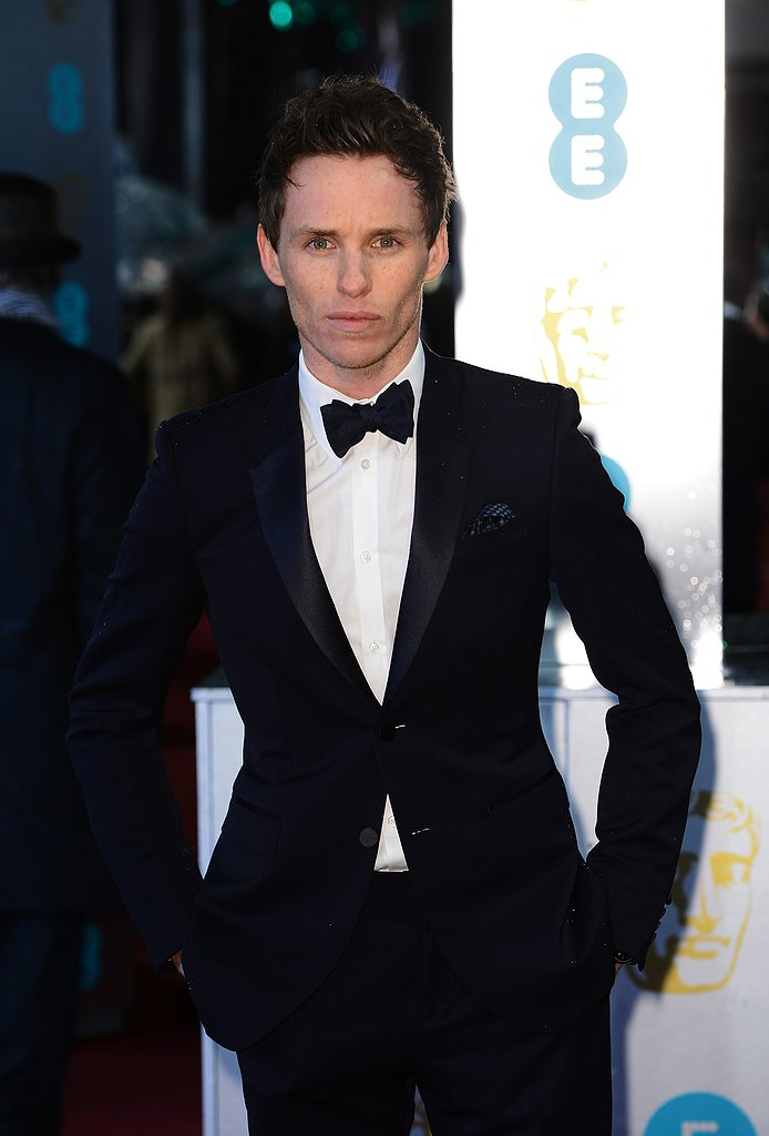 Eddie Redmayne stepped out for the BAFTA Awards.