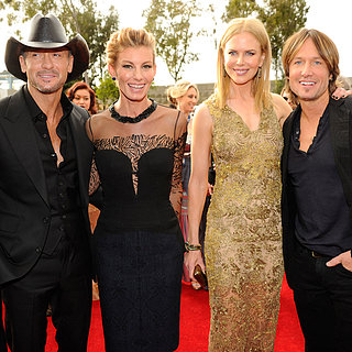 Nicole Kidman and Keith Urban at the Grammys 2013