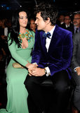 Katy Perry and John Mayer shared a sweet moment at the Grammys.