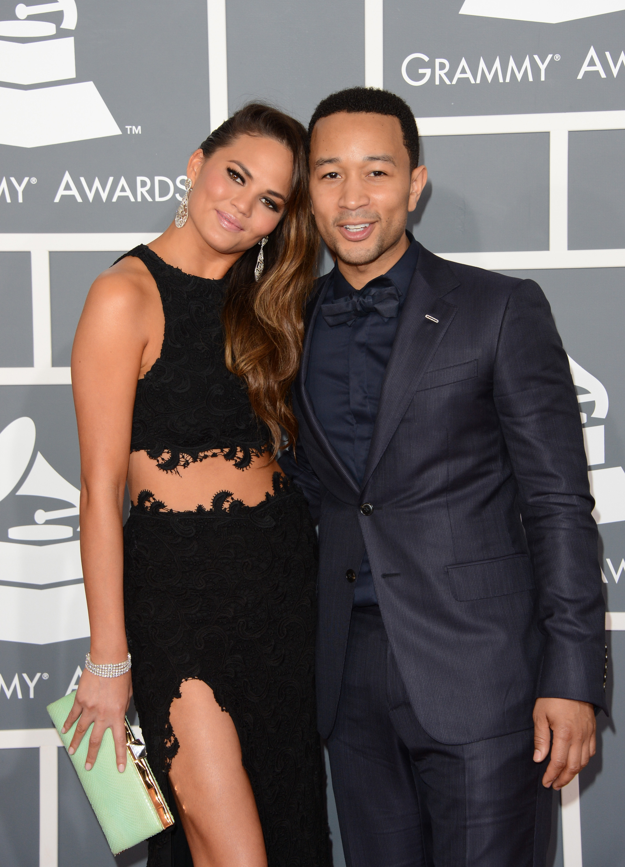 John Legend stepped out with Chrissy Teigen for the Grammy Awards.