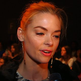 Jaime King Interview at Lela Rose Fall 2013 Show (Video)