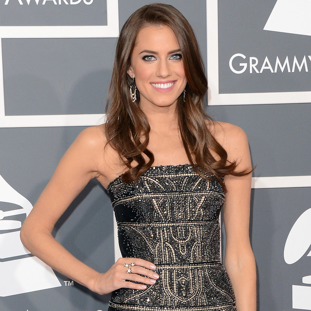 Allison Williams | Grammys 2013 Red Carpet Dress