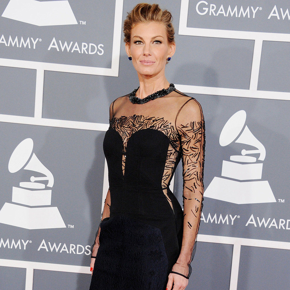 Faith Hill | Grammys 2013 Red Carpet Dress