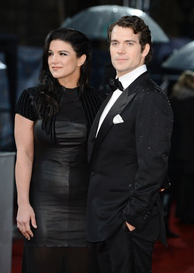 Henry Cavill and Gina Carano made a hot pair at the BAFTA Awards.