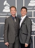 Neil Patrick Harris and David Burtka made a dapper pair per usual.