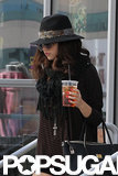 Selena Gomez Grabs Lunch Following a Reported Night With Justin Bieber