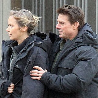 Tom Cruise and Emily Blunt Shoot All You Need Is Kill