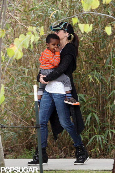 Sandra Bullock and Camila Alves Take Their Little Ones to a NOLA Zoo