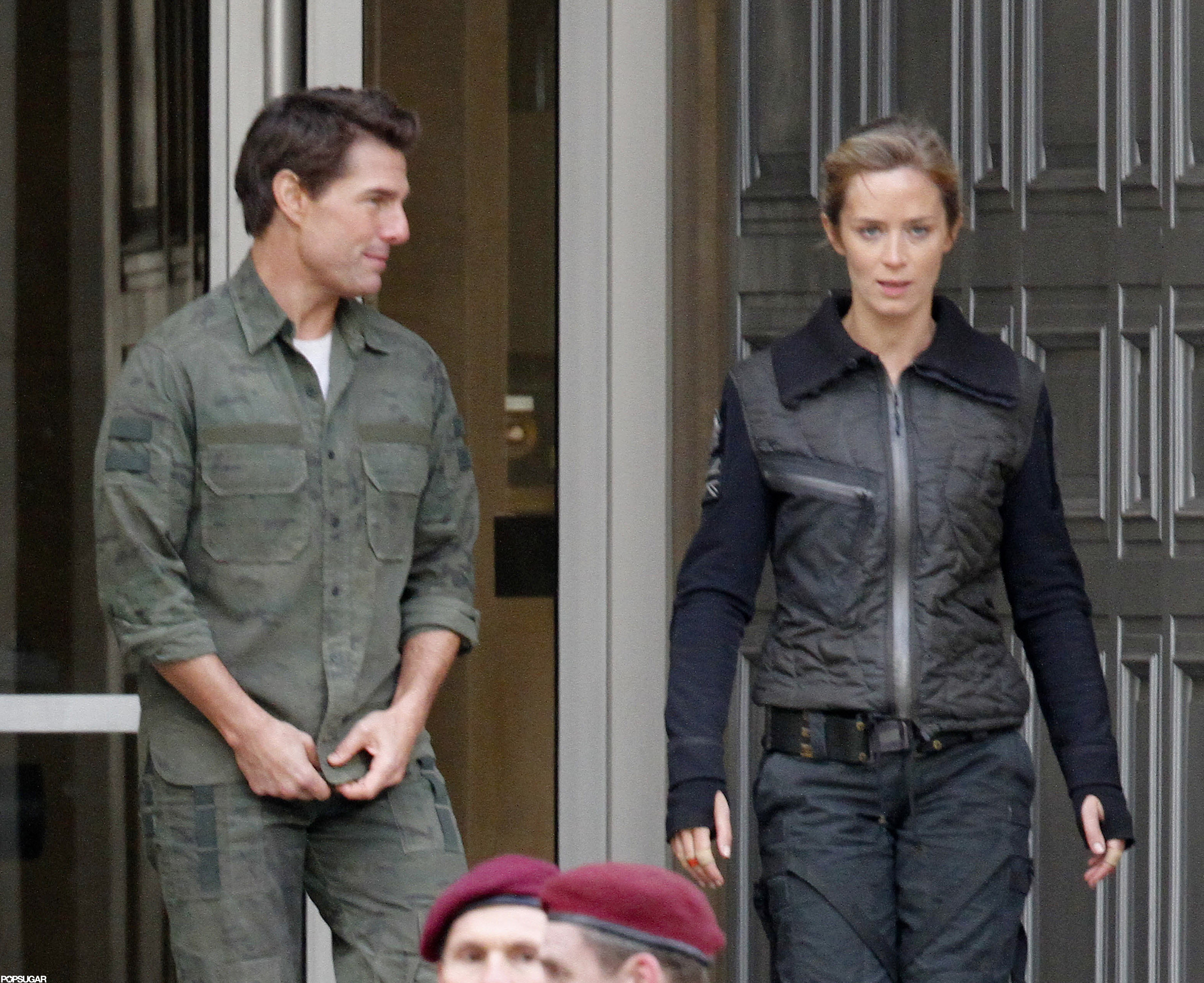 Emily Blunt and Tom Cruise filmed All You Need Is Kill ... Tom Cruise Movies