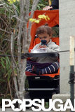 Vida McConaughey sat in her stroller.