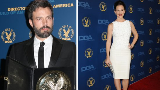 "Video: Ben Calls Wife Jennifer ""Best Person in the World"" After DGA Win!"
