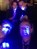 Neil Patrick Harris and Jon Cryer got nervous during the Superdome blackout in New Orleans in January 2013. Source: Twitter user actuallyNPH