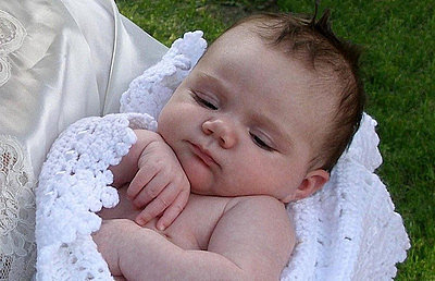 """Miracle Baby Thriving After Mom """"Frozen"""" During Pregnancy"""
