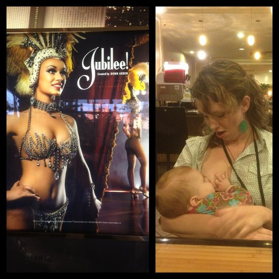 Mom Asked to Cover Up While Breastfeeding in Las Vegas Hotel