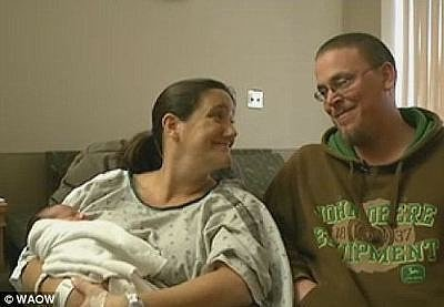 Woman Gives Birth In Front Seat of Her Minivan