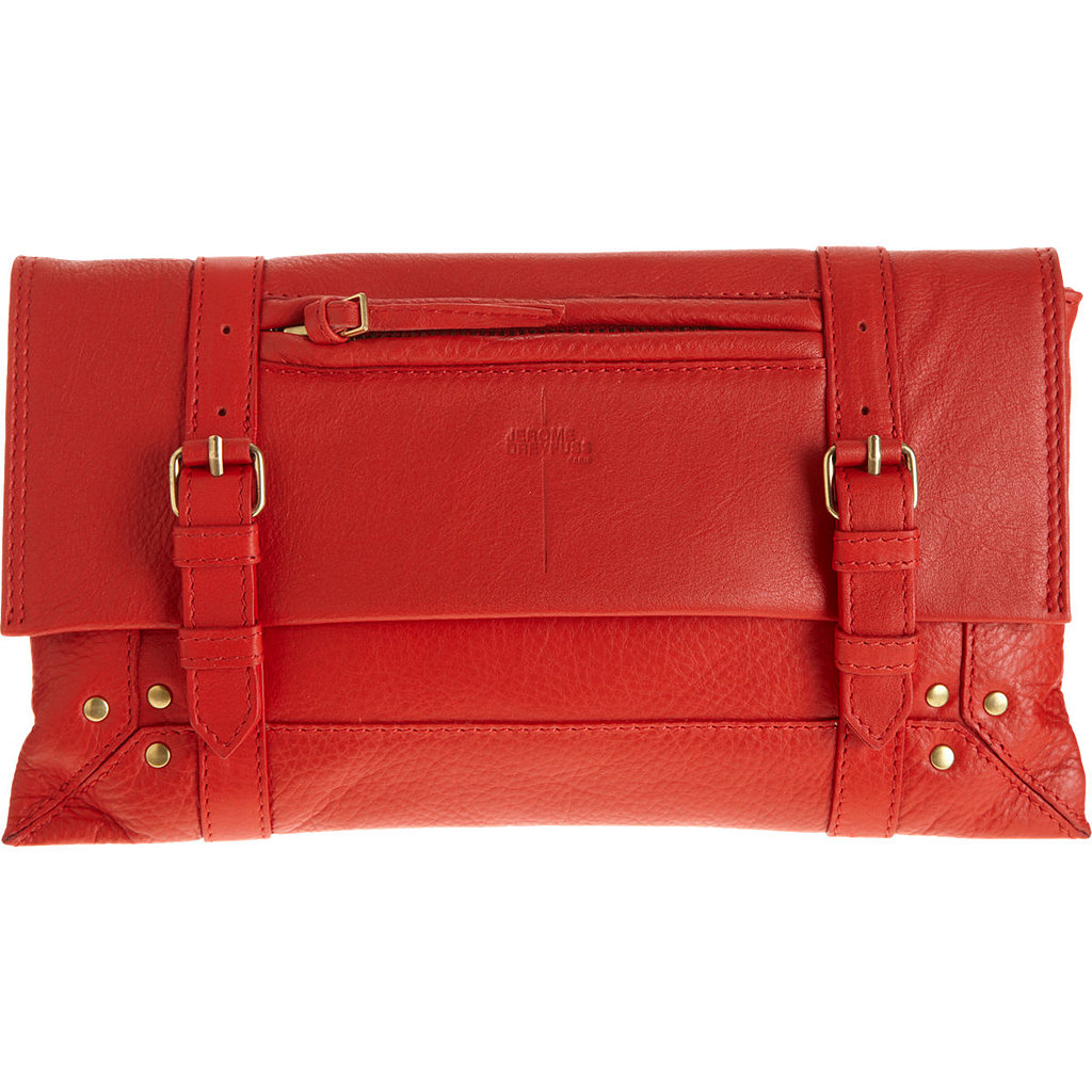 Jerome Dreyfuss's Leon clutch ($179, originally $450) is perfectly sized to fit all of your daily essentials, and a little more in case you need it.