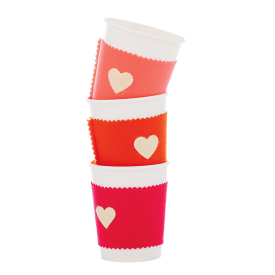 Felt Coffee Cup Sleeve
