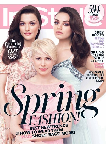 The Ladies of Oz Team Up For a Glamorous March Cover