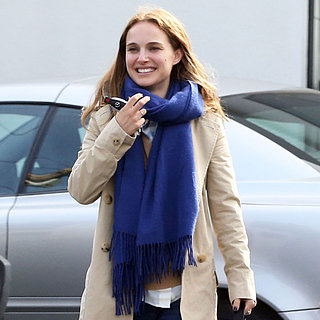 Natalie Portman Lunches With Benjamin Millepied | Pictures