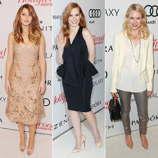 Jessica, Jennifer and Naomi Celebrate Oscar Noms With The Hollywood Reporter