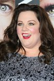 Melissa McCarthy chose bright red lips for the premiere of her new film Identity Thief in LA.