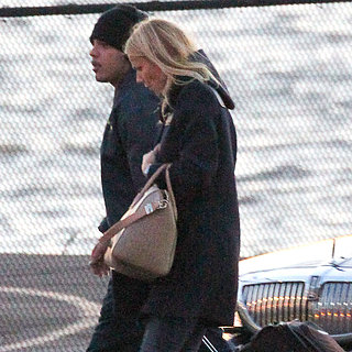 Gwyneth Paltrow and Cameron Diaz Take a Helicopter in NYC