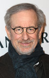 Steven Spielberg arrived at the event.
