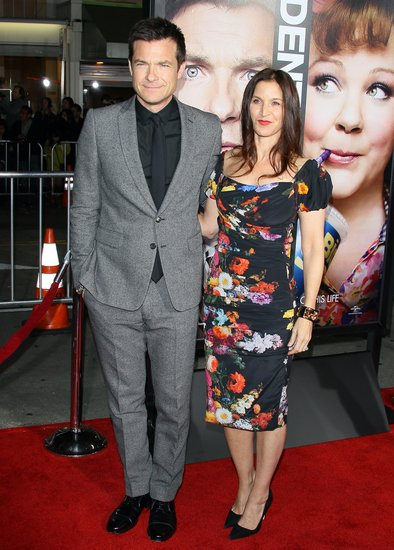 Jason Bateman and wife wife, Amanda Anka attended the Identity Thief premiere in LA.