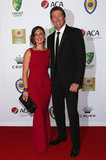 Sara and Glenn McGrath