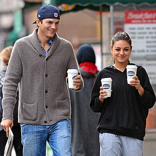 Cute Ashton Kutcher and Mila Kunis Pictures