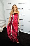 Sarah Jessica Parker walked the red carpet at the amfAR New York Gala.