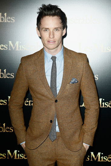 Eddie Redmayne posed in Paris.