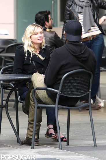 Kirsten Dunst and Garrett Hedlund Spend a Couple's Day at LACMA