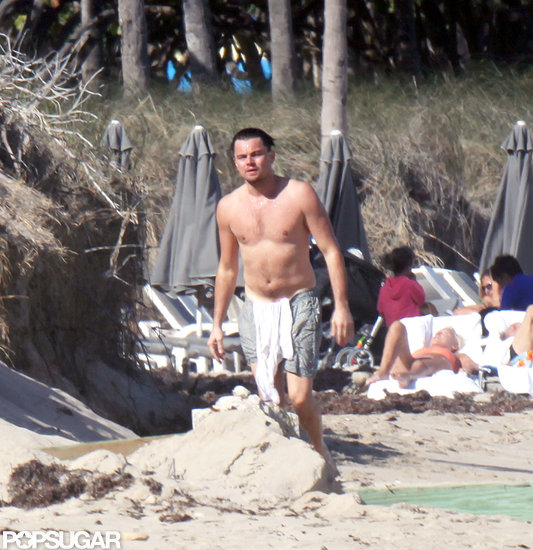 Leonardo DiCaprio went shirtless in Miami over the weekend.