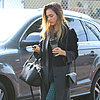 Jessica Alba&#039;s Houndstooth Jeans
