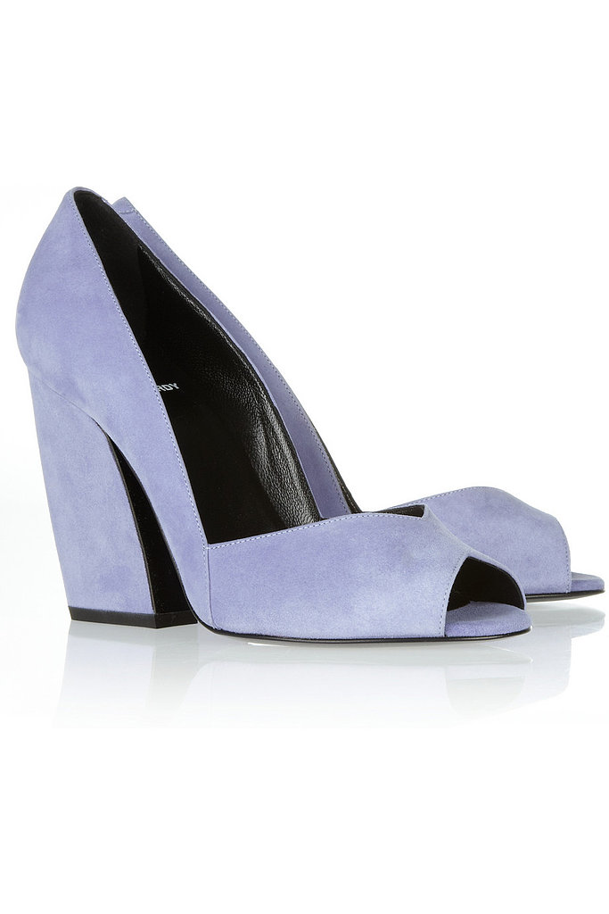 Pump up an LBD with these gorgeous Pierre Hardy Suede Pumps ($895).