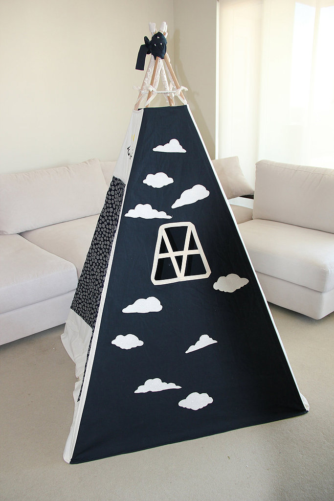 Navy and Cream Cloud Tent