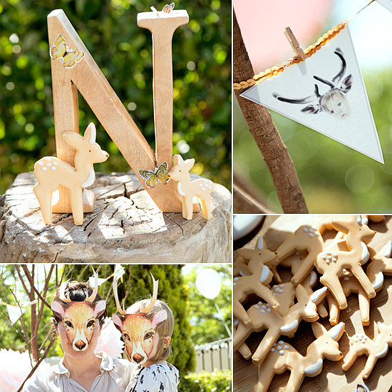 A Hip, Bambi-Inspired Third Birthday Bash