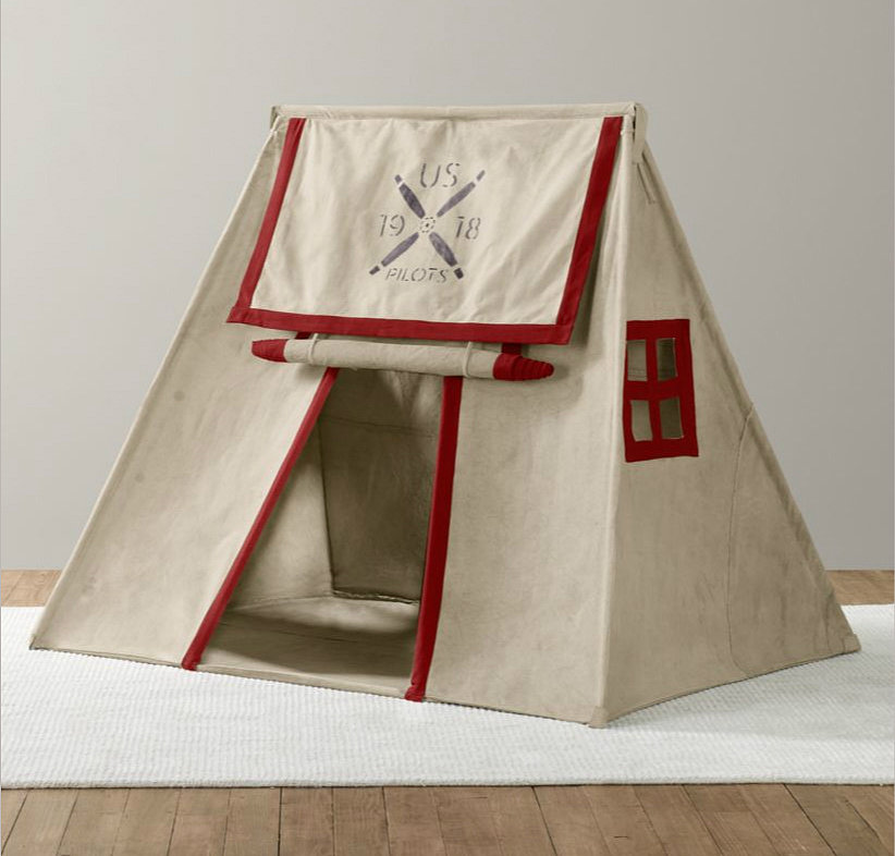 Recycled Canvas Pitch Tent